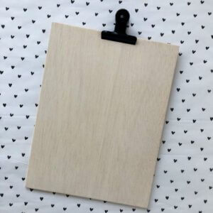 houten klembord houtenklembord klem hout handgemaakt a4 houder
