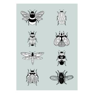 poster insecten jongenskamer peuterkamer
