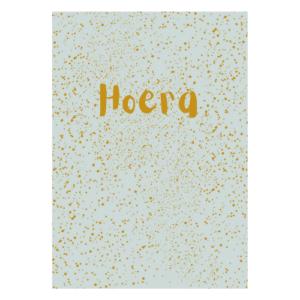 hoera verjaardagskaart kaart kopen verjaardag feest echte post verjaardagspost uniek eigen ontwerp webwinkel