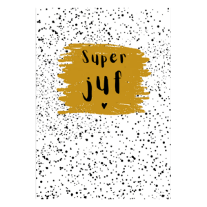 juf kaart super juffen bedankje idee kopen invulkaart cadeautje