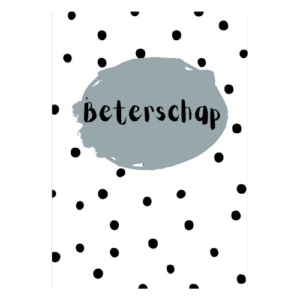 beterschapskaart beterschap ziek kaartje sturen echte post is leuk kaarten kopen online webshop