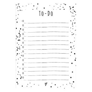 to-do todo to do blok blokje notitieblokje notitieboekje notes te doen nog webwinke online kopen stationery
