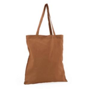 katoenen tas katoenentas cotton bag bruin nude handig webshop online bestellen canvas canvastas