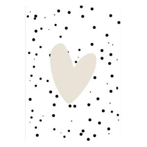 kaart hart hartje neutraal liefde lief kopen webwinkel online kopen shopsmall