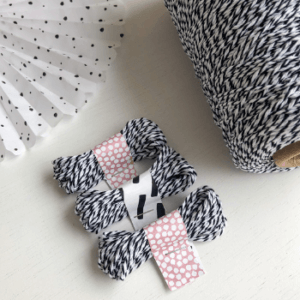 bakkerstouw zwart wit bakkers touw lint cadeautje online kopen bestellen