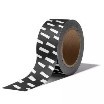 washitape washi tape maskingtape masking tapes zwart wit streep streepjes witte online bestellen webshop kopen
