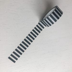 washitape washi tape maskingtape strepen gestreept zwart witte zwartwit